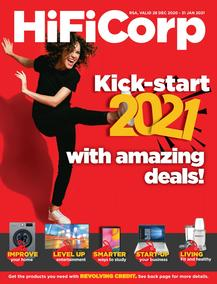 HiFi Corp : Kick Start 2021 With Amazing Deals (28 December - 31 January 2021)