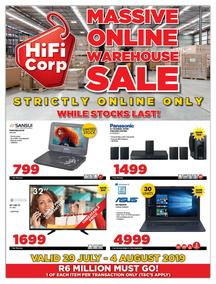 HiFi Corp Specials | 2019 Latest Catalogues