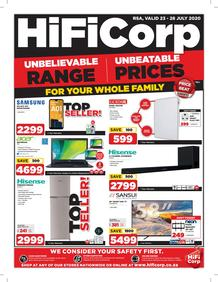 HiFi Corp : Unbelievable Range, Unbeatable Prices (23 July - 28 July 2020)
