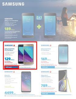 Special Samsung Galaxy Grand Prime Plus Smartphone — www