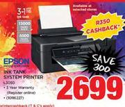 Special Epson Ink Tank System Printer L3050 — www guzzle co za