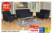 Julianna 3 Piece Lounge Suite
