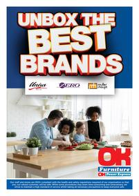 OK Furniture : Unbox The Best Brands (23 March - 30 May 2021)