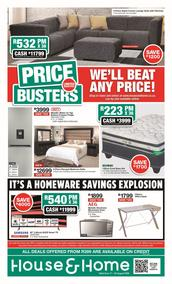 House & Home : Price Busters (17 August - 25 August 2020)