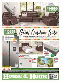 House & Home : The Great Outdoor Sale (25 Sep - 06 Oct 2019)