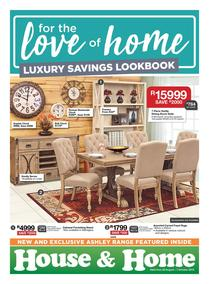House & Home : Luxury Savings (22 Aug - 07 Oct 2018)