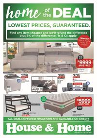 House & Home : Lowest Prices (11 Jun - 23 Jun 2019)