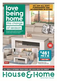 House & Home : Love Being Home (19 April - 27 June 2021)