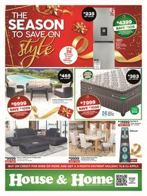 House & Home : The Season To Save On Style (22 Oct - 07 Nov 2019)