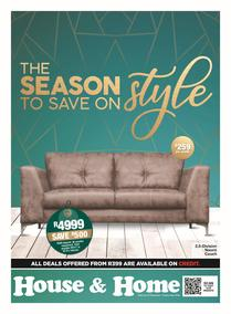 House & Home : The Season To Save On Style! (21 Nov - 24 Dec 2019)