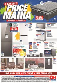 OK Furniture : Price Mania (17 Jul - 21 Jul 2019)