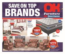 OK Furniture : Save On Top Brands (24 Apr - 05 Jun 2019)