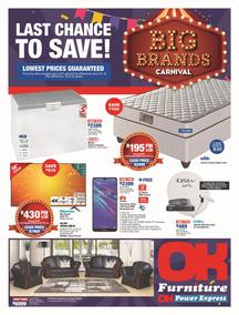 OK Furniture : Big Brand Carnival (21 May - 05 Jun 2019)