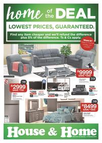House & Home : Lowest Prices (22 Jan - 03 Feb 2019)