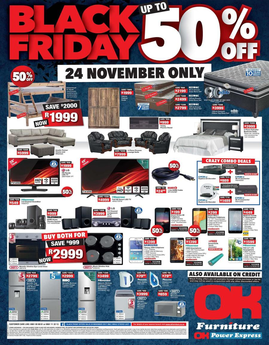 Ok furniture black friday 24 nov 2017 only page 1