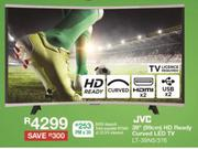 "JVC 39"" (99cm) HD Ready Curved LED TV LT-39N5/376"