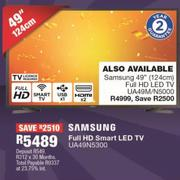 "Samsung 49""(124cm) Full HD Smart LED TV UA49N5300"