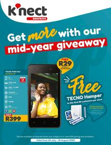 Shoprite K'nect : Mid-Year Givaway (24 July - 10 August 2020)