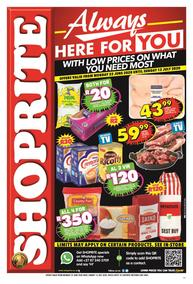 Shoprite Western Cape : Always Here For You (22 June - 12 July 2020)