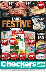 Checkers Western Cape : Christmas Specials (07 Nov - 18 Nov 2018)