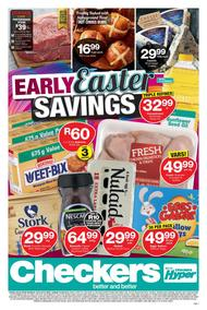 Checkers Western Cape : Easter Specials (25 Mar - 07 Apr 2019)