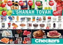 Checkers Western Cape : L'Shanah Tovah (17 September - 04 October 2020)