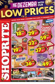 Shoprite Western Cape : Christmas Deals (03 Dec - 25 Dec 2018)