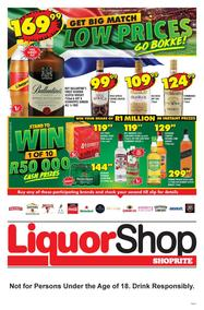 Shoprite Liquorshop Western Cape : Low Prices (19 Sep - 06 Oct 2019)