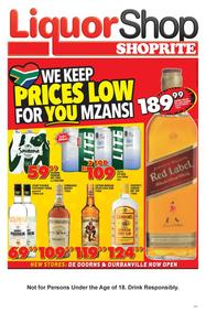 Shoprite Western Cape : Liquorshop (22 Feb - 03 Mar 2019)