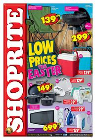 Shoprite Western Cape : Low Prices This Easter (25 Mar - 07 Apr 2019)