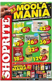 Shoprite Western Cape : Moola Mania Promotion (22 May - 09 Jun 2019)