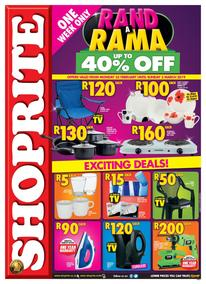 Shoprite Western Cape : Rand A Rama (25 Feb - 03 Mar 2019)