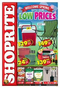 Shoprite Western Cape : Spring Promotion (30 Sep - 13 Oct 2019)