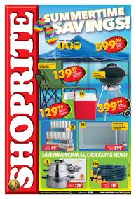 Shoprite Western Cape : Summer Savings (21 Oct - 10 Nov 2019)