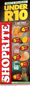 Shoprite Western Cape : Under R10 Deals  (23 Jan 2019 Only)