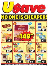 Usave Western Cape (26 April - 09 May 2021)