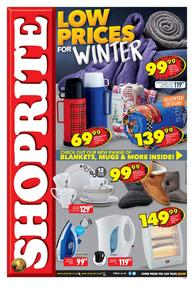 Shoprite Western Cape : Winter Promotion (23 Apr - 05 May 2019)