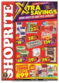 Shoprite Western Cape : Xtra Savings Is Here This January (25 January - 07 February 2021)