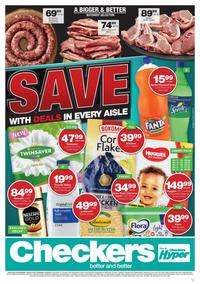 Checkers KwaZulu - Natal : July Month End Promotion (12 Aug - 21 Aug 2019)