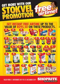 Shoprite KwaZulu-Natal : Stokvel Promotion (11 Nov - 25 Dec 2019)