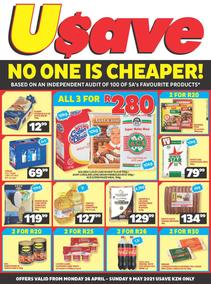 Usave KwaZulu-Natal (26 April - 09 May 2021)